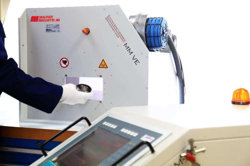 Hochleistungs-Entmagnetisiere VE von Maurer Magnetic